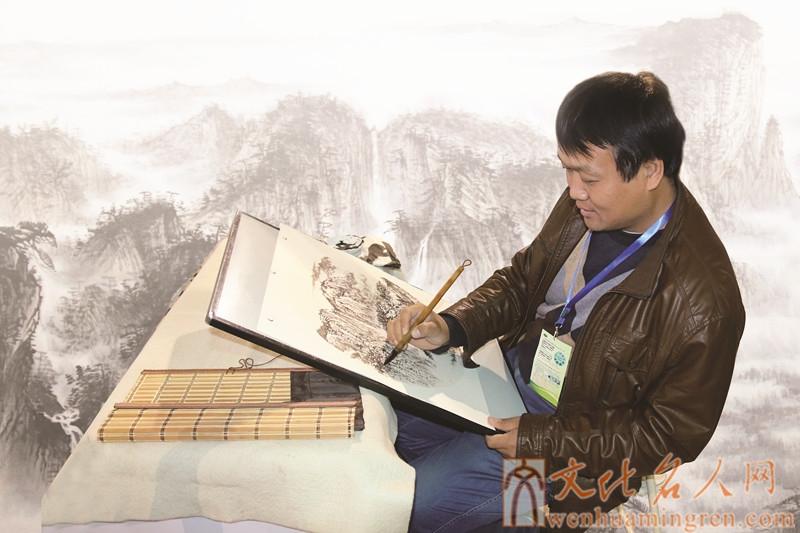 画家王朋泉